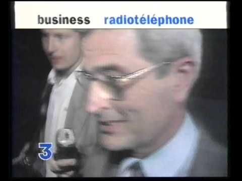 Premiers GSM en France 1994: archives France 3