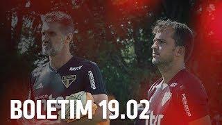 BOLETIM + DANIEL CERQUEIRA: 19.02   SPFCTV