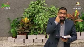"""Lamentações 3 - """"Trazendo a memória o que nos dá ESPERANÇA"""" - Pr. Antônio Dias 08-04-2021"""