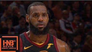 Cleveland Cavaliers vs Portland Trail Blazers 1st Qtr Highlights / March 15 / 2017-18 NBA Season