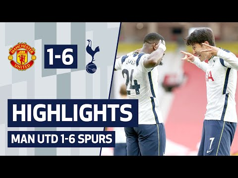 HIGHLIGHTS | MANCHESTER UNITED 1-6 SPURS | Ndombele, Son, Kane & Aurier score in emphatic win
