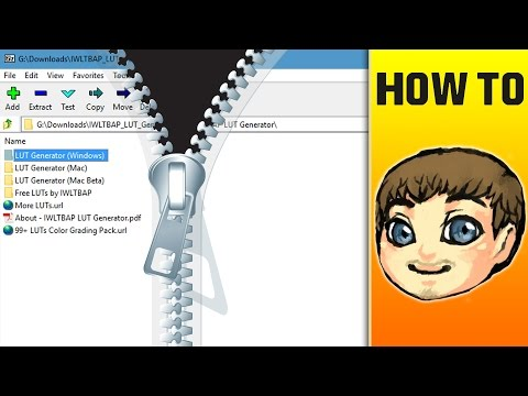 How to Open ZIP/RAR/7Z Files in Windows 10 // Easy & Free!