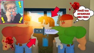 THE BULLY WHO BEAT THE KIDS!   ROBLOX BULLY STORY (VIDEO REACTING)