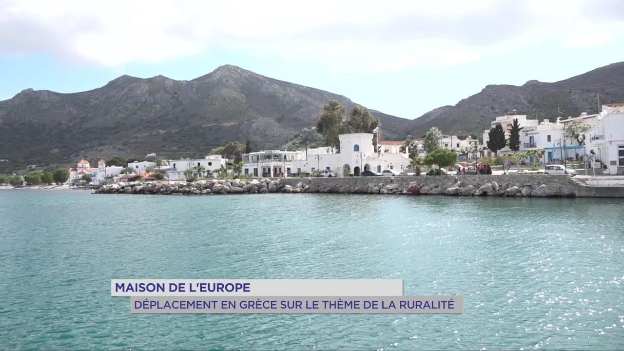 Yvelines | Maison de l'Europe : Déplacement en Grèce sur le thème de la ruralité