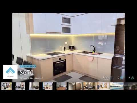 The Sun Avenue – District 2: 15mins to D1. 2Bedroom and Luxury Furniture – Mr.LEO 0902579158