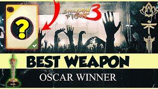 Shadow Fight 3 best weapon chosen by fans
