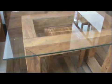 Mesas r sticas para escrit rio em madeira de demoli o - Mesas de escritorio ...