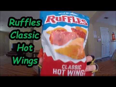 Milo Reviews: Ruffles Classic Hot Wings...