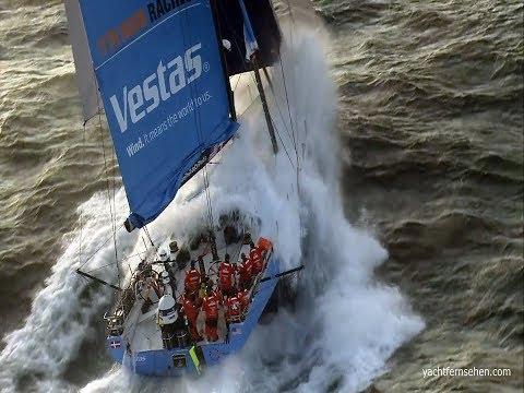 Volvo Ocean Race 2017 - Leg 1 / Gibraltar - by yachtfernsehen.com