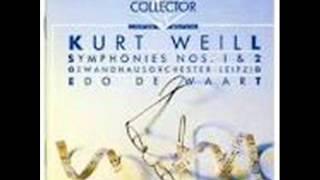 Kurt Weill   Symphony N° 2 1933   Full