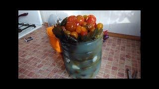 💡 Соление огурцов в пластиковой бутылке.Pickling cucumbers