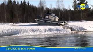 Truxor DM 5000 Ice driving.(Truxor Original www.doroteamekaniska.se +4694225880., 2012-03-03T18:01:34.000Z)