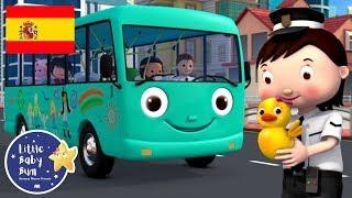 Las Ruedas del Autobús y el Cinco Patitos | Dibujos Animados | Little Baby Bum en Español