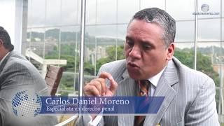 Entrevista al abogado Carlos Daniel Moreno