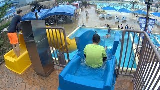 Double Drop Slide at Blue One Water Park