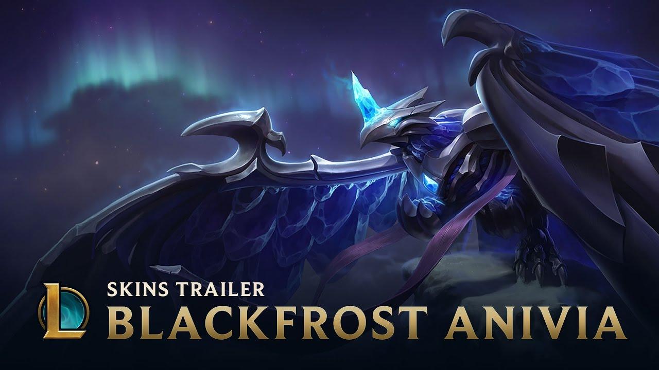 Blackfrost Anivia   Skins Trailer - League of Legends ... Blackfrost Anivia Wallpaper