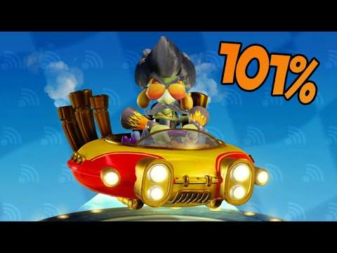 UNLOCKING HOT ROD NITROS OXIDE (101% Adventure Mode)! | Crash Team Racing Nitro Fueled