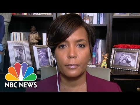 Atlanta Mayor Lance Bottoms: 'We Are Serious About Policy Changes' | NBC News from YouTube · Duration:  6 minutes 32 seconds