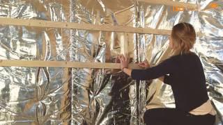 Wand of muur isolatiefolie instructie video