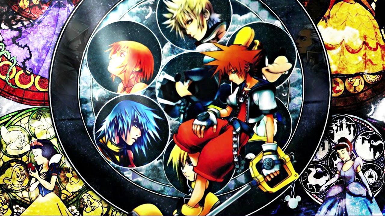 animated dive into the heart destati kingdom hearts ii wallpaper