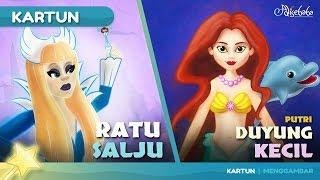 Download Video RATU SALJU + PUTRI DUYUNG KECIL cerita anak anak animasi kartun MP3 3GP MP4