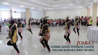Video Juara 1 Hand Hygiene Dance Kab. Sragen tahun 2015 download MP3, 3GP, MP4, WEBM, AVI, FLV November 2018