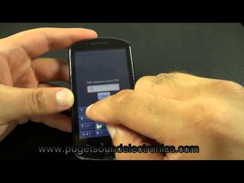 How to unlock Consumer Cellular Huawei U8800-51