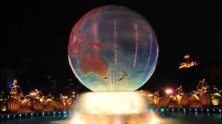 【高音質】 TDS エントランス BGM ナイト ディズニーシー・プラザ アクアスフィア