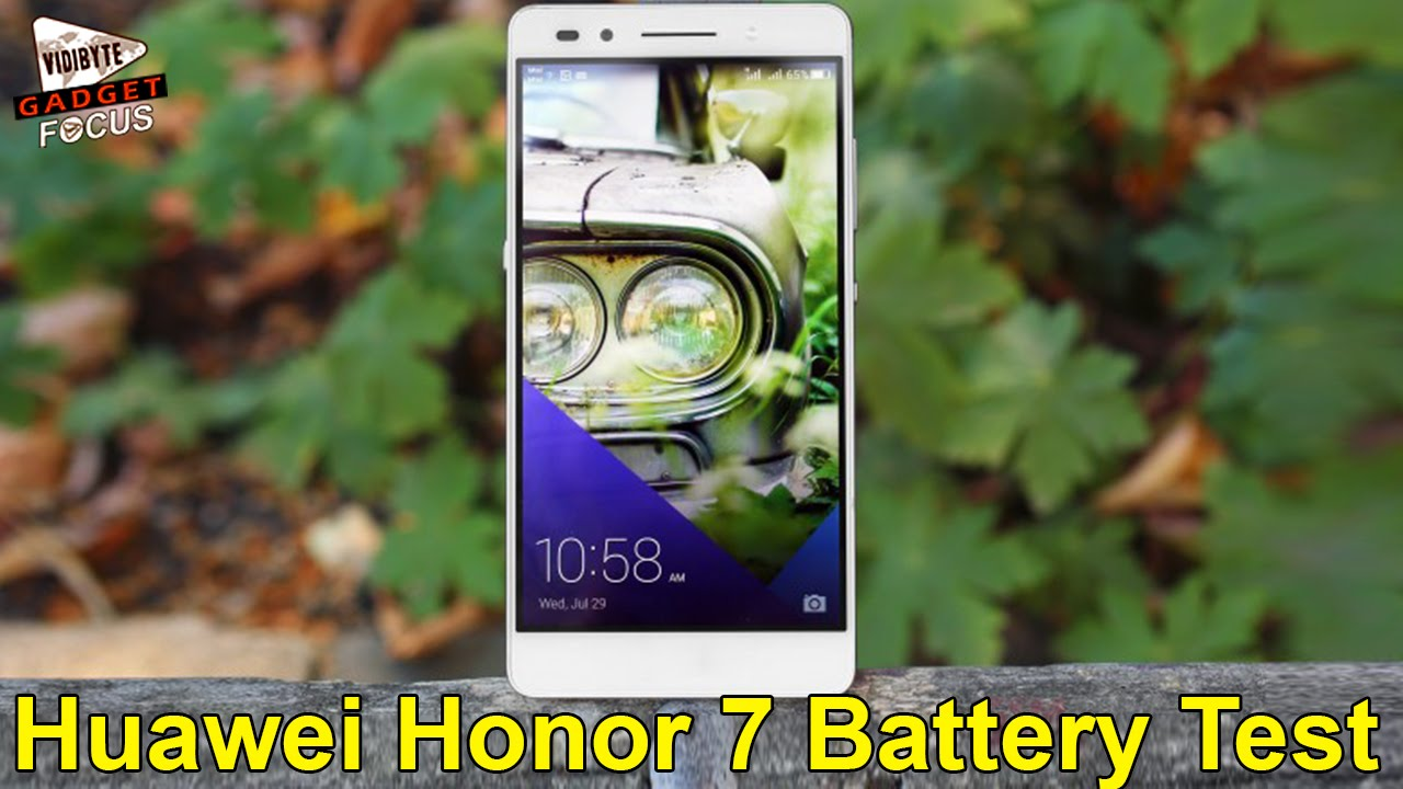 Huawei Honor 7 Battery Life Test