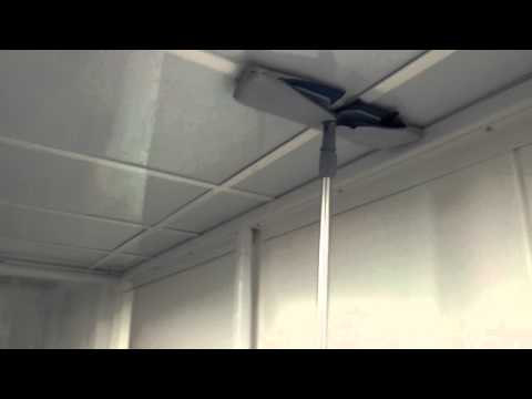 Cleanroom Cleaning - Ceiling Cleaning Technique