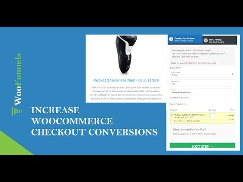 Increase WooCommerce Checkout Conversions With One-Page Checkout By Aero   WooFunnels