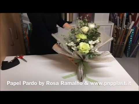 Flower Bouquet Gift Wrapping #wrappingflowers