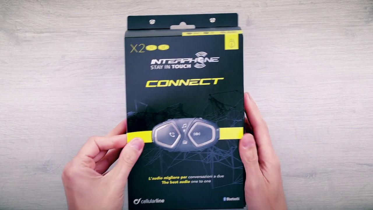 Interphone Connect, presentación del producto y contenido del paquete