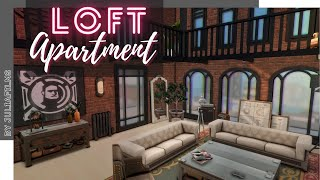 Квартира Лофт I Строительство I Loft Apartment SpeedBuild I NO CC [The Sims 4]