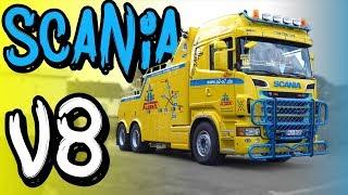 22 Tonnen Monster - Rouvens Scania V8 Abschlepper! | Philipp Kaess |