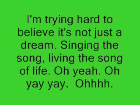 Singing to the Song of Life  Mandy Moore Lyrics