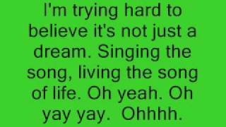 Singing to the Song of Life by Mandy Moore Lyrics