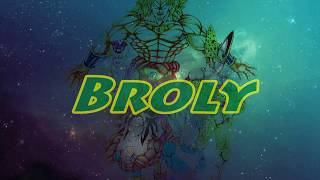 Fabfive Series #3 part Six: speed drawing Broly