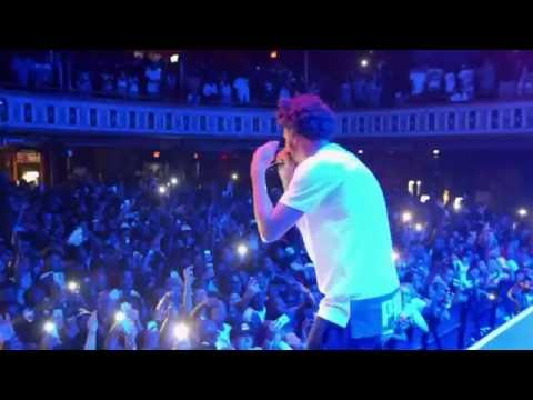 J Cole Back To The Topic (Live)