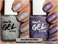 Avon Mark Gel Shine Nail Enamel - Holographic Capture & Futurist