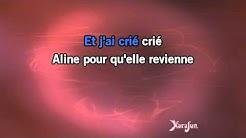 Karaoké Aline - Christophe *