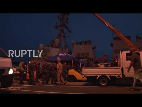 Japan: Rescue efforts for missing USS Fitzgerald sailors continue