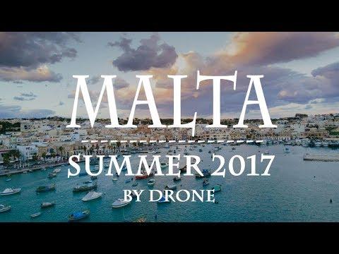 Summer trip Malta 2017 | Drone footage DJI Spark [HD]