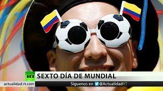Colombia inaugura la sexta jornada del Mundial Rusia 2018