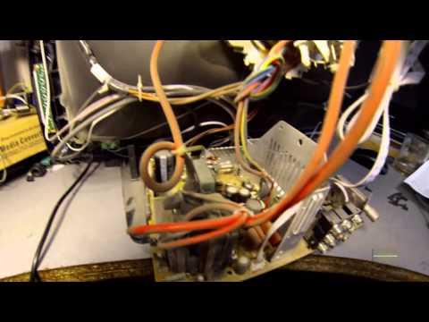 видео: Ремонт телевизора Электрон. Типичная неисправность.