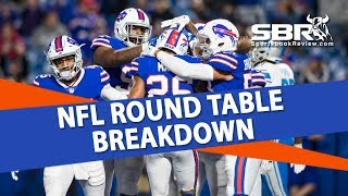 NFL Betting | Week 10 Free Picks & Predictions on the SBR Roundtable