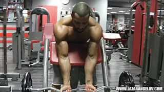 Lazar Angelov new workout fitness 2014