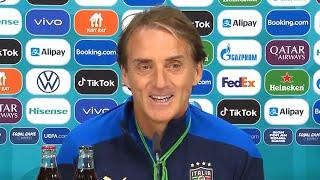 Roberto Mancini - Italy v England - Pre-Match Press Conference - Euro 2020 Final