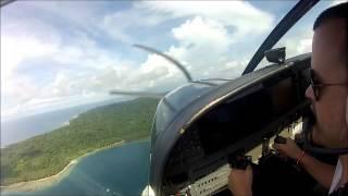 Take off from Pulau Tello (Mentawai), Sumatra, Indonesia - Susi Air Cessna Grand Caravan C208B