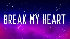 Dua Lipa - Break My Heart (Lyrics)